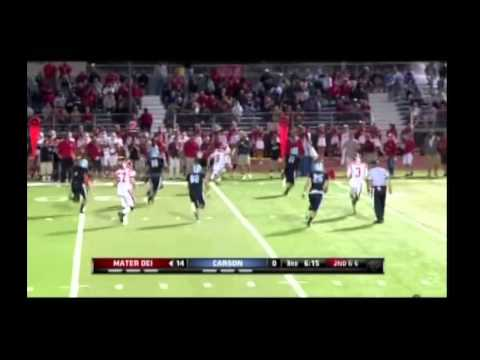 Chase Forrest - Mater Dei Quarterback 2013 Highlights