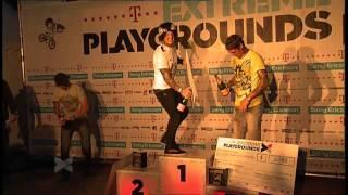 Telekom Playgrounds10_HH, BMX, Siegerehrung