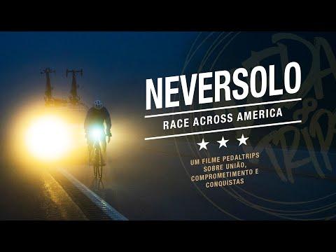 NEVERSOLO: Mixirica na Race Across America