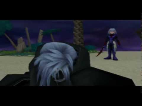 Kingdom Hearts Re:Chain Of Memories [Riku] - Zexion / Castle Oblivion B3F Scenes