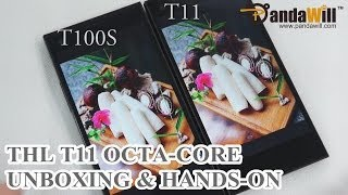 Hands On: ThL T11 OctaCore Smartphone  - VS ThL T100S