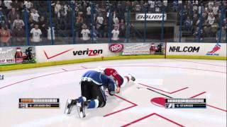 NHL 12 Online Gameplay: Tampa Bay Lightning (Kush77) vs. Florida Panthers (Black Ice Hog) Xbox 360