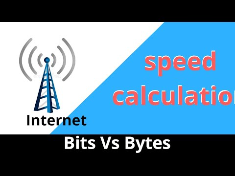 megabit vs megabytes, understand your internet speed | Bits and bytes explained