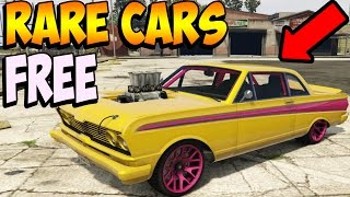 GTA 5 Online - RARE CARS FREE Location 1.37: Secret Storable Vehicles! (GTA 5 Best Rare Cars Online)