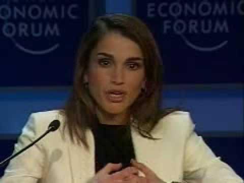 Davos Annual Meeting 2003 - Queen of Jordan