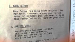 Abba Father, Let me be Yours and Yours Alone