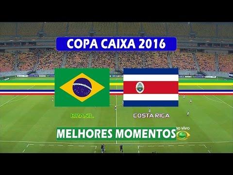Brasil 6x0 Costa Rica - Melhores Momentos - Copa Caixa de Futebol Feminino (07/12/2016)