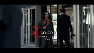 кашемировое пальто  Двустороннее пальто из кашемира GOBI