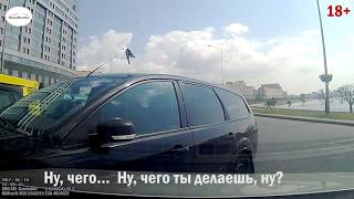 Водители без мата реагируют на ДТП  ПОДБОРКА