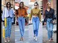 Mom jeans 2017 street style