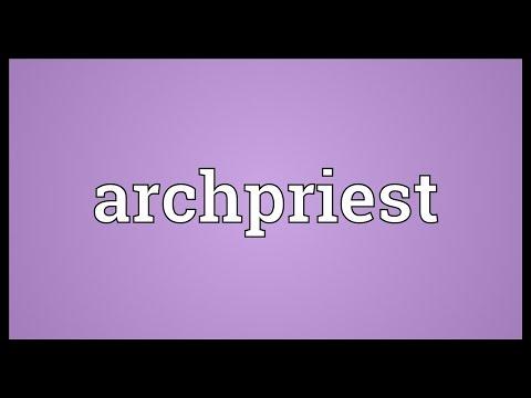 Header of archpriest
