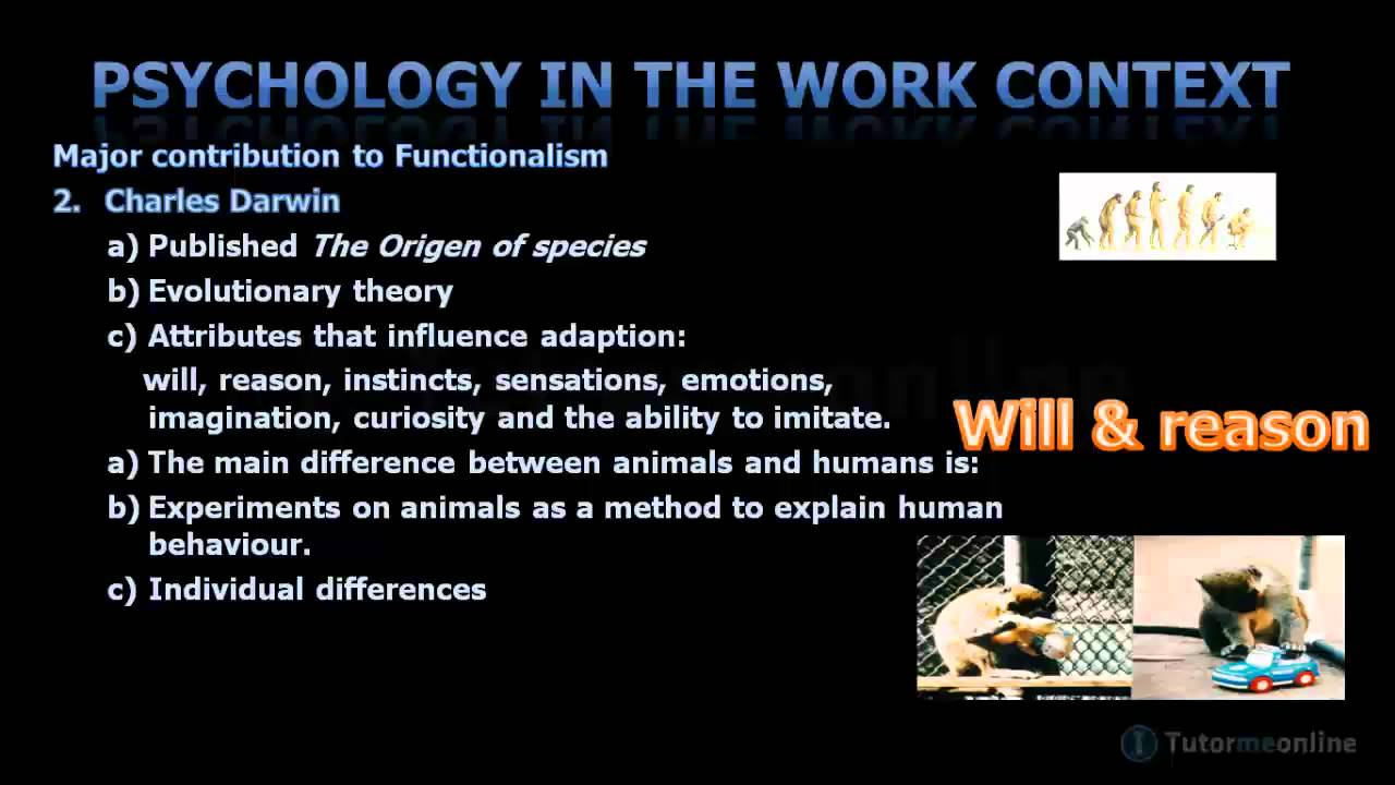 Functionalism Charles Darwin Francis Galton Munsenburg Charles Darwin Psychology Emotions [ 720 x 1280 Pixel ]