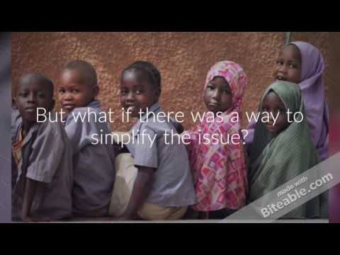 Product Service Design - Education in Niger