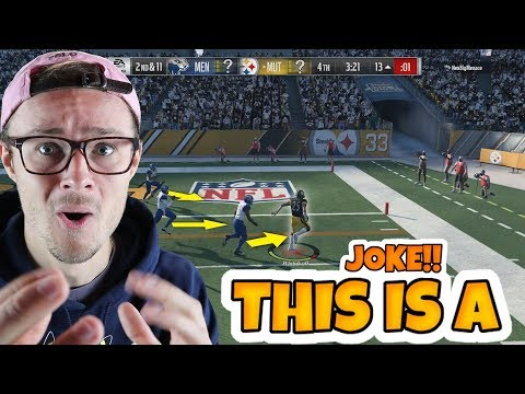 The game ENDED like this because of... Madden 18 packed out!!