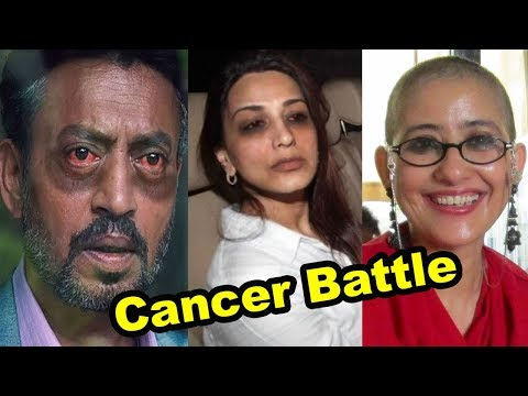 From Sonali Bendre to Ir Khan, 15 Bollywood celebs and their battle with cancer