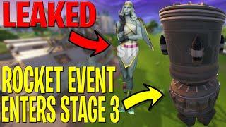Fortnite Rocket Event Enters Stage 3 - NEW Encrypted Skins LEAKED Female Cupid & Traveler - 3rd Part