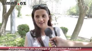 Azərbaycanda ən reytinqli 3 universitet hansıdır? (sorğu) thumbnail