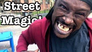 Funny Street Magic Reactions!