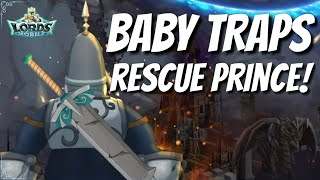 Baby Traps Rescue Prince! - Lords Mobile