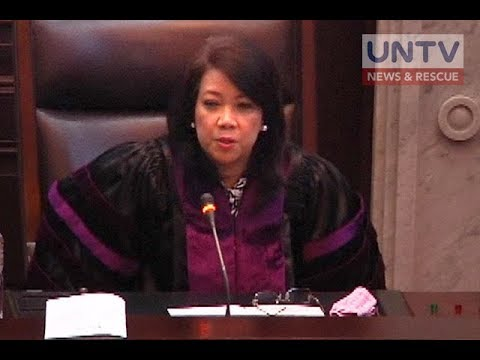 Articles of Impeachment laban kay CJ Sereno, inaprubahan ng House Committee on Justice