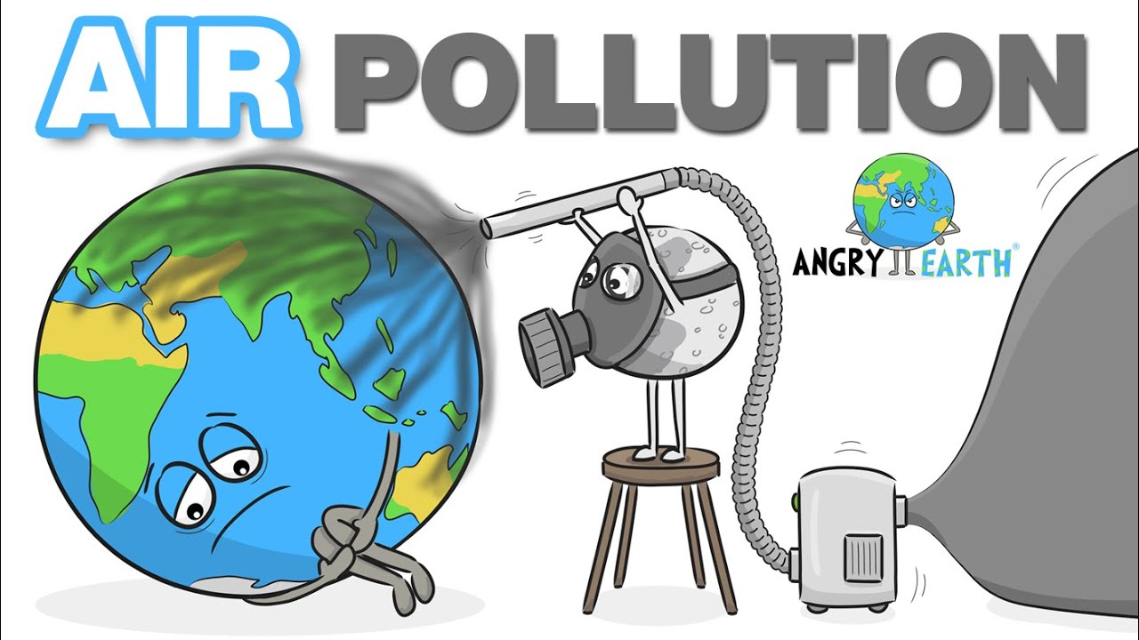 ANGRY EARTH images compilation 13 : Air Pollution