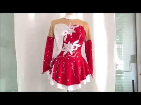 платье костюм для фигурного катания фигурноe катаниe
