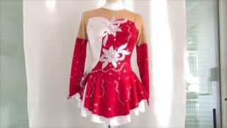 платье костюм для фигурного катания фигурноe катаниe(, 2012-10-12T18:39:36.000Z)