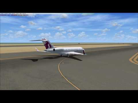 Qatar Executive Bombardier Global Express (FSX)