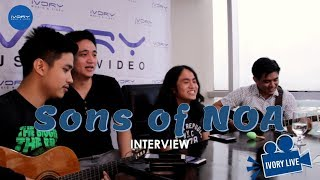 #IvoryLive: Sons of NOA share how the band started