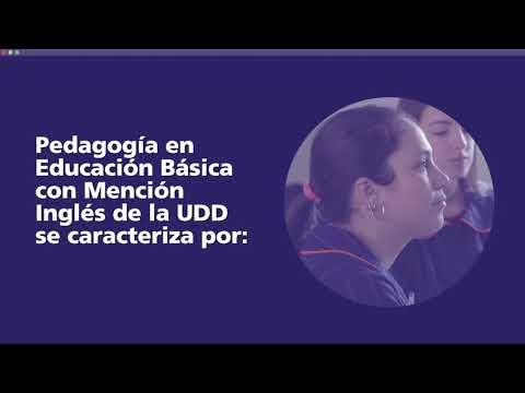 Pedagogía en Educación Básica con mención Inglés UDD - Acreditación 2022
