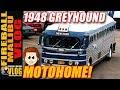 VINTAGE 1948 GMC GREYHOUND BUS MOTORHOME! - FIREBALL MALIBU VLOG 637