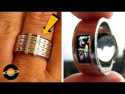 10 najbardziej kreatywnych pierścieni i pierścionków