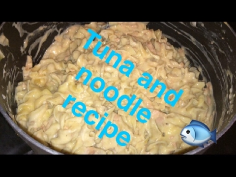 TUNA AND NOODLE RECIPE | COOK WITH ME