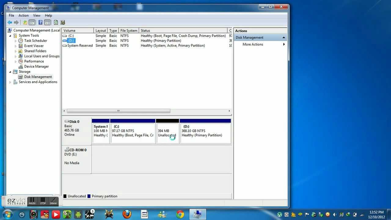 Sh Show Me How To Play A Dvd In My Pc - How to make a new local disk