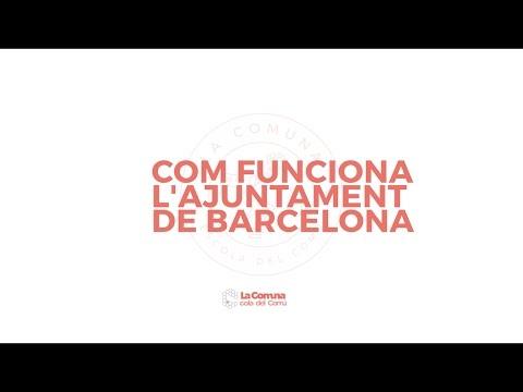 """Escola del Comú: """"Com funciona l'Ajuntament de Barcelona"""""""