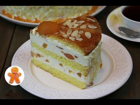 Творожный торт с