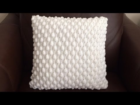 How To Knit A Berry Pillow, Lilu's Handmade Corner Video # 70