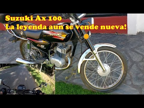 Review honesto Suzuki Ax 100 + test ride (rodada)