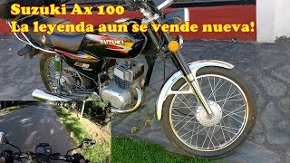 Review honesto Suzuki Ax 100 + test ride (rodada)