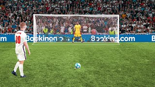 I Recreated England's Euro 2020 EXTREME Pressure Penalties...But For England Fans