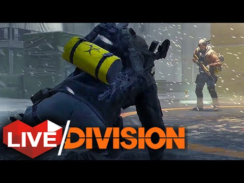 The Division: Dark Zone | Journey To The Most Dangerous Part of NYC | Multiplayer Live Stream