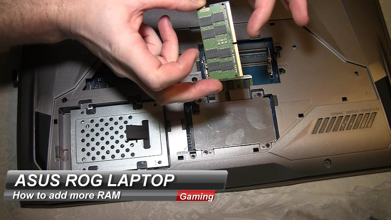 How To Install Ram On A Laptop Asus Rog G752 Memory