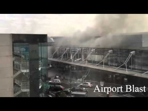 Brussels Suicide Bombing : Airport And Metro Footage 35 KILLED , 270 Wounded