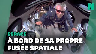 Virgin Galactic dévoile une vidéo de Richard Branson volant dans l'espace