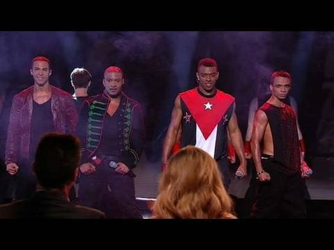 JLS - Britain's Got Talent 2010 - Semi-final 5 (itv.com/talent)