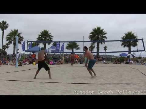 2013 CBVA Mission Beach Mens AAA 07-06-2013 Kalmbach and Hatcher defeat Araiza and Parra