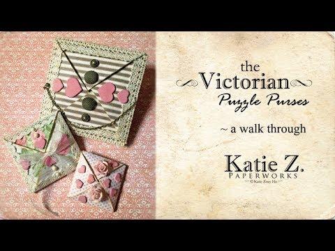 Victorian Puzzle Purses