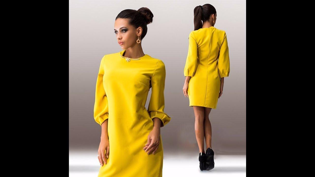 Платье для девочки. Как научиться шить с нуля - YouTube