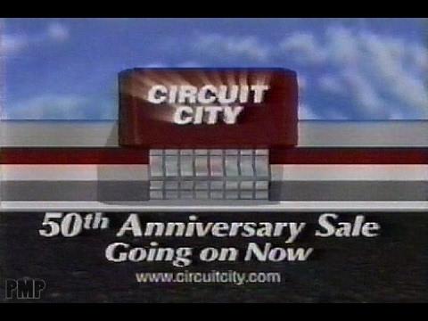 Circuit City 50th Anniversary Sale (1999)