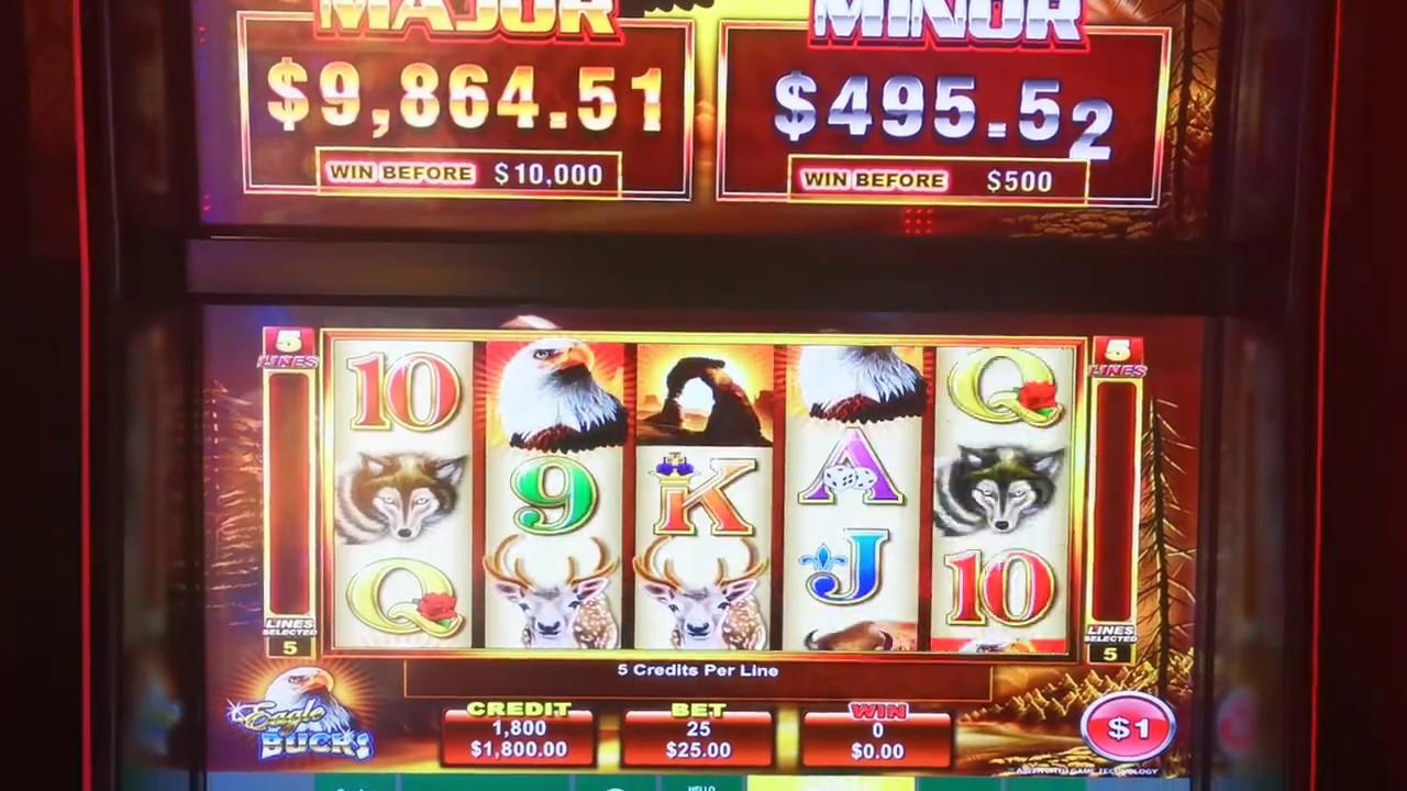 high denomination max bet slots wins on video